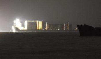 南海1号驶向水晶宫将于今日上午正式靠岸