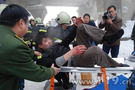 207国道襄樊段突发9车连撞恶性交通事故(图)