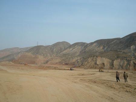 兰州移山造地工程将平整出土地267平方公里