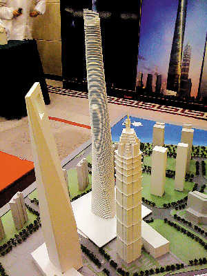 上海中心有望成为中国第一高楼(组图)