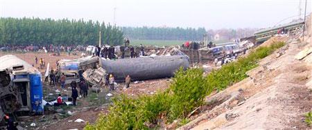 胶济铁路火车相撞事故系人为责任事故