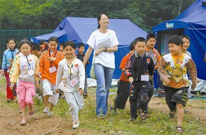 四川九洲体育馆灾民预计7月1日前全部撤离