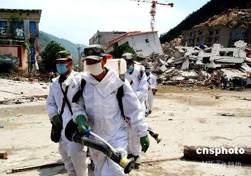 卫生部:地震重灾县传染病发生率同比呈下降趋势