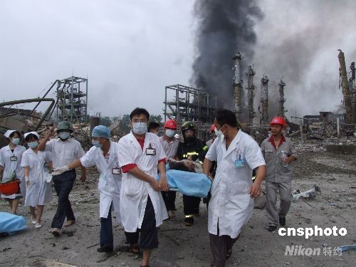广西宜州化工厂爆炸已造成11死57伤