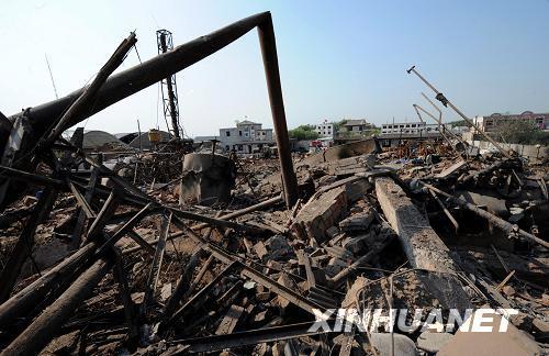辽宁辽阳化工厂爆炸致占地6万平米企业被摧毁