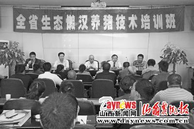 农民报生态懒汉养猪培训班火热开班(图)