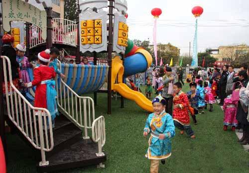 呼和浩特市蒙古族幼儿园整体改造竣工投入使用