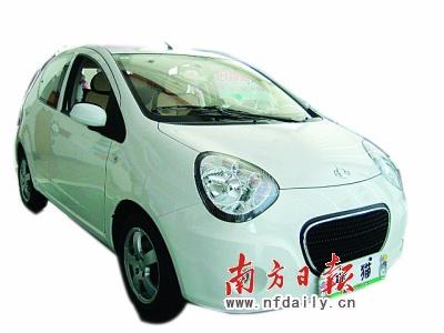 新标吉利熊猫广州车展上市