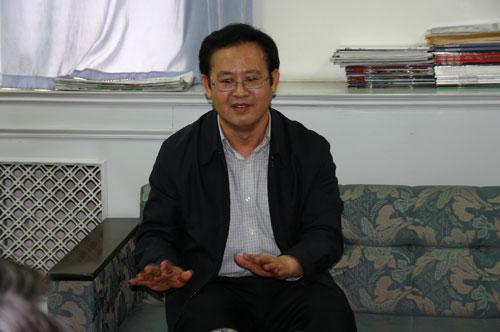王勇平:发言人可以通过博客解决网友一些问题