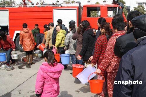 江苏盐城生活供水恢复正常污染肇事嫌疑人被拘