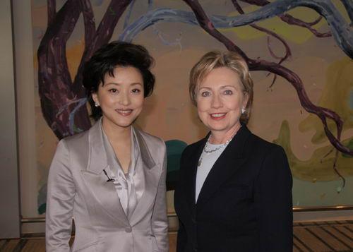 东方卫视独家专访美国国务卿希拉里