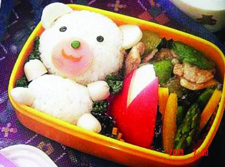 充满童趣的食物创意图片