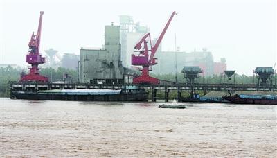 武汉亚东水泥_金口港区重件多用途码头,武钢江北基地码头,亚东水泥码头,唐家渡综合