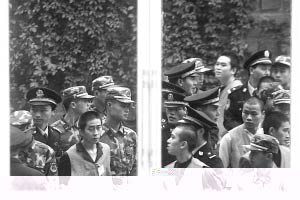 重庆张波张涛涉黑案庭审直击:被告人面带微笑