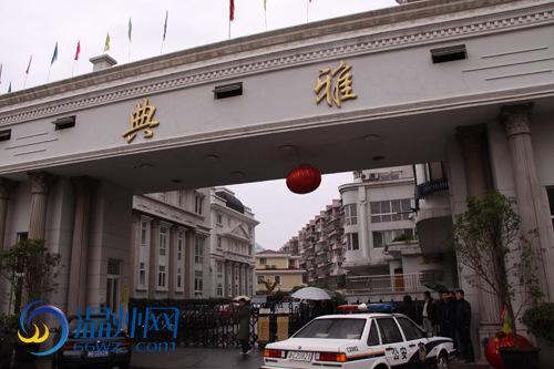温州男子闯入别墅挟持多名人质与警方对峙(图)