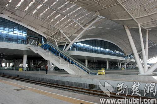 武汉火车站效果图