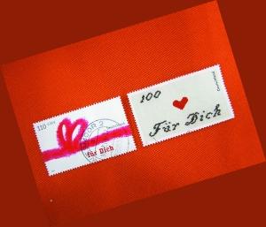 集30万爱情邮票 只因女友一封信