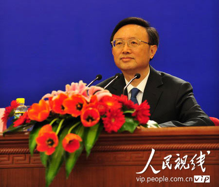 杨洁篪:不能把中国维护核心利益视为强硬(全文)