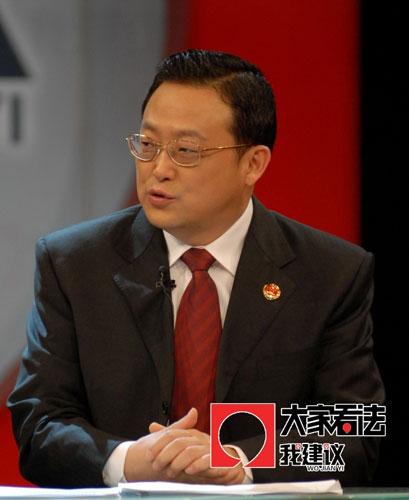 最高检副检察长孙谦:行政权受约束是法治的基础