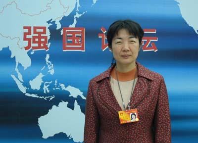 雷晓凌代表:食品安全必须加重惩罚力度