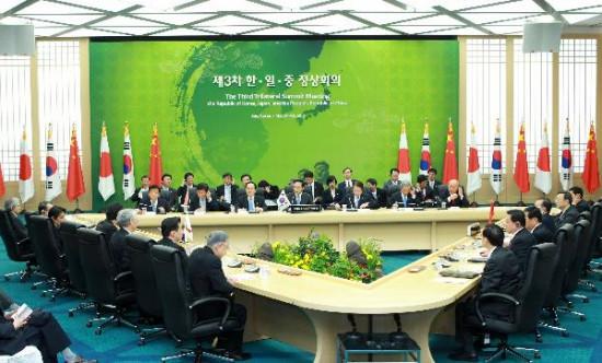 中日韩将建三国合作秘书处机制化三国关系