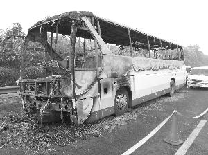 长沙客车起火2人死亡