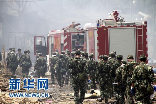 南京爆炸事故系施工挖断管道导致丙烯泄漏所致