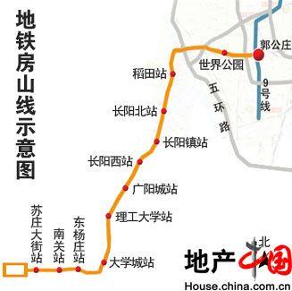 北京地铁房山线_北京地铁房山线列车最高时速百公里为国内最快
