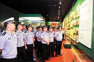 重庆打黑民警到延安接受教育