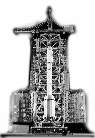 改进型长二F火箭  海晗/CFP