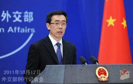 外交部发言人刘为民