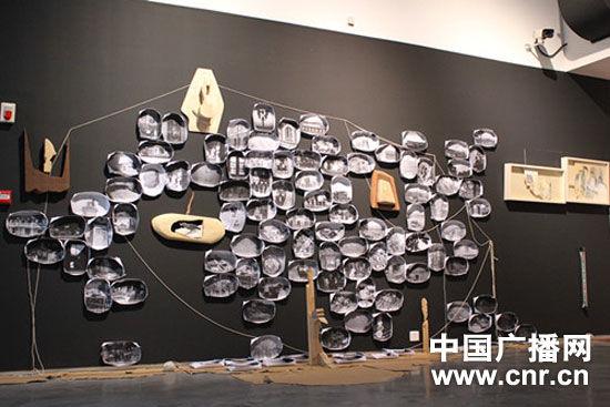 """成都当代美术馆举办""""日用——常行""""行为艺术展览图片"""
