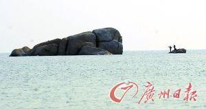 无人岛——鱼塘洲。(资料图片)记者 龙成通摄