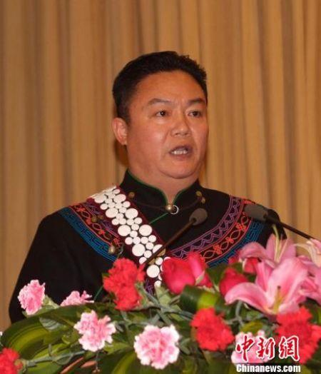 罗凉清当选为四川凉山州州长。图片由凉山州委宣传部提供。