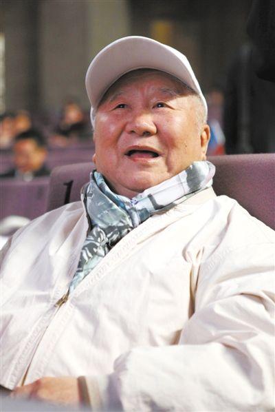 2011年度国家最高科技奖获得者吴良镛。