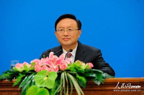 外交部部长杨洁篪