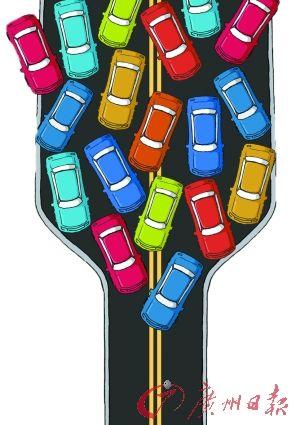 """不少代表委员认为,征收交通拥堵费只能是""""不得不出"""",而不应该是""""主动去出""""。 CFP供图"""