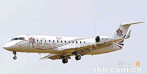 揭秘中国富豪私人飞机