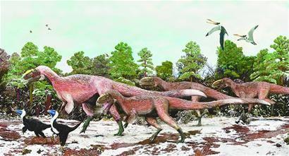 我国发现迄今体型最大的带羽毛恐龙化石