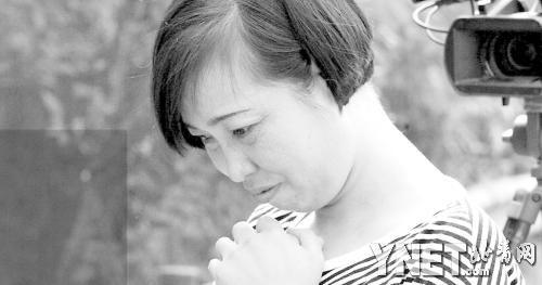 8月10日,被释放的唐慧接受新华社记者采访 ■图/新华社