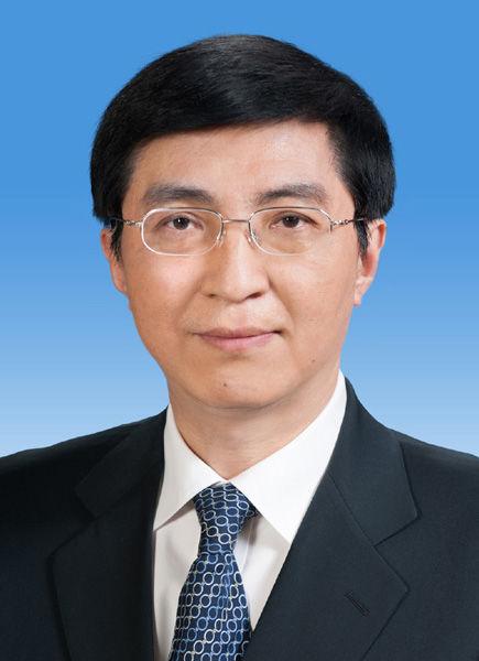 中央政治局委员王沪宁同志