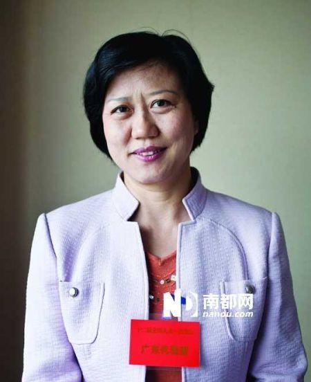 全国人大代表黄细花。南都记者 林宏贤 摄
