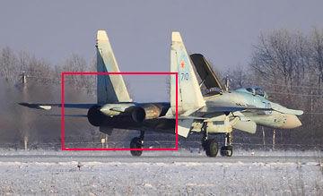 俄罗斯T-10M-10原型机测试117S发动机