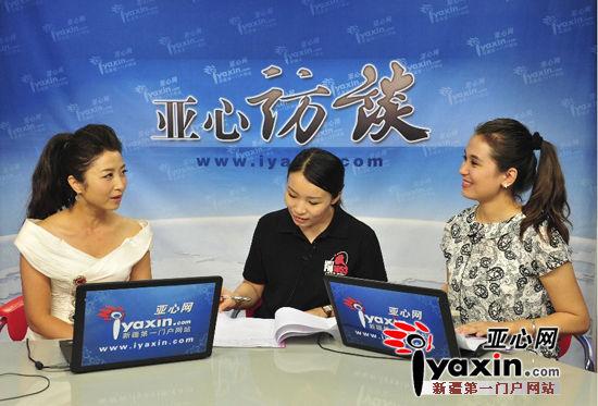 著名歌唱家刘媛媛走进亚心网直播间 讲述她的