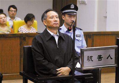 9月10日,北京市第二中级人民法院,张曙光在庭审中。新华社记者 公磊 摄
