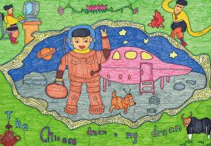 中国梦 我的梦 全省儿童画大赛优秀作品选登图片