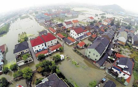 宁波余姚遭百年不遇水灾