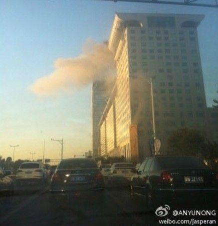 北京盘古七星酒店火灾系误报 冒烟因烟道故障