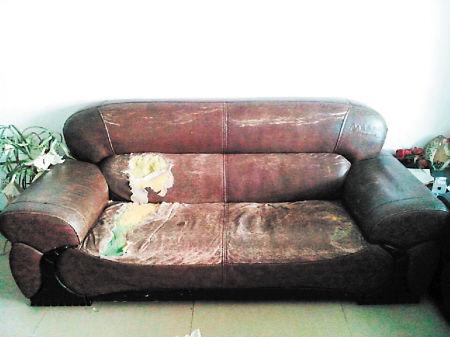 沙发用旧了,整一整变新沙发