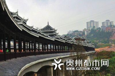 > 正文    本报讯(杨秀银记者罗茜摄影报道)昨日,贵州鼓楼风雨桥技艺